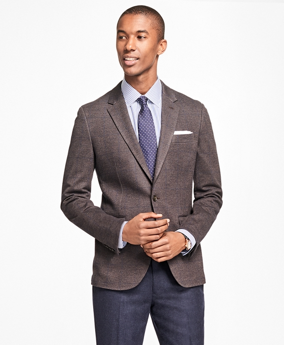 Milano Fit Two-Button Sport Coat Brown