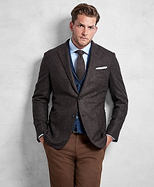 Golden Fleece® Brown Rust Texture Sport Coat