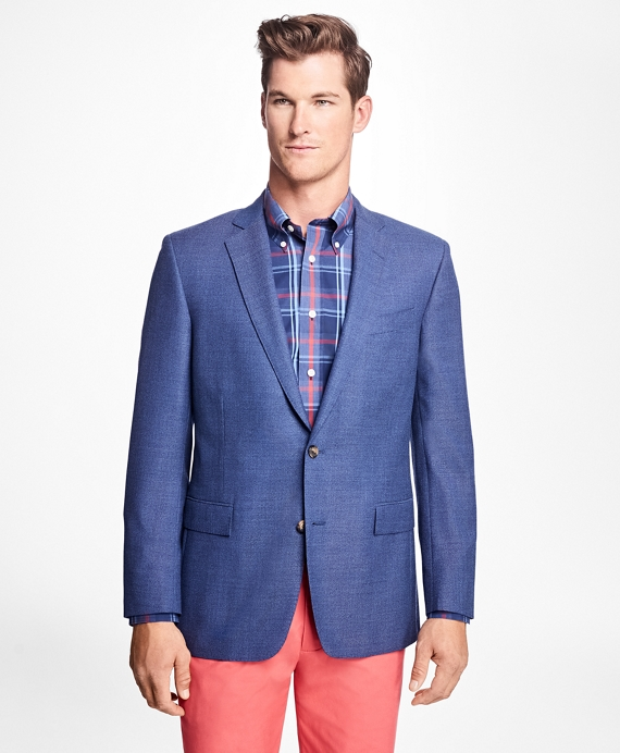 Regent Fit Two-Button Hopsack Sport Coat