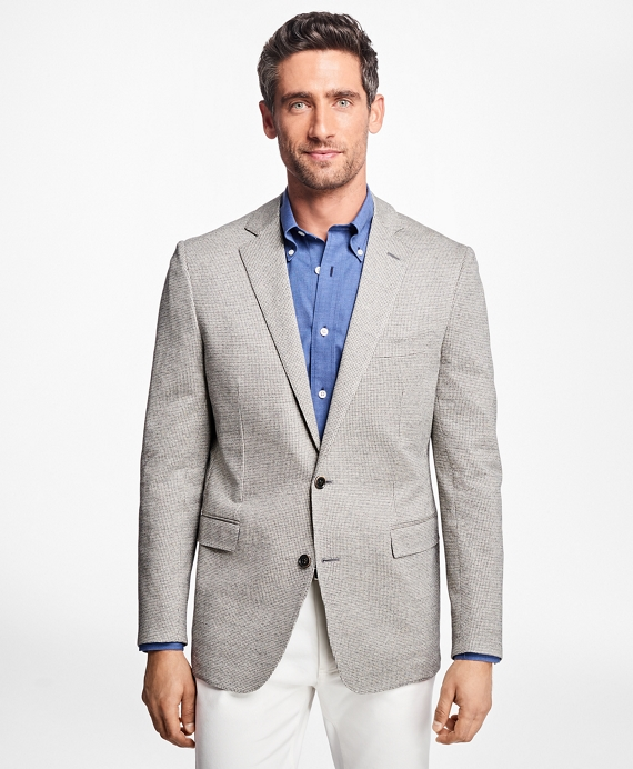 Regent Fit Grey Tic Sport Coat Grey