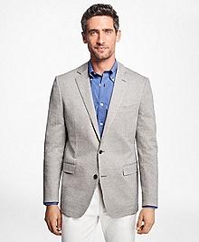 Regent Fit Grey Tic Sport Coat