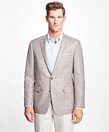 Regent Fit Plaid Check Sport Coat