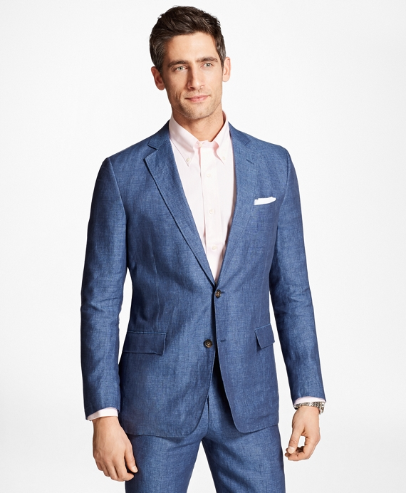 Regent Fit Linen Sport Coat - Brooks Brothers
