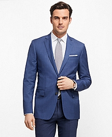 Regent Fit Mini-Check Sport Coat