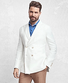 Golden Fleece® Double-Breasted Twill Sport Coat