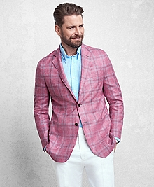 Golden Fleece® Rose Plaid Sport Coat