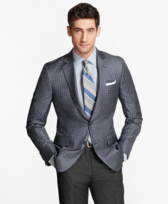 Regent Fit Multi-Check Sport Coat