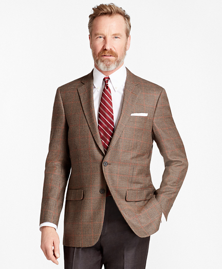 Madison Fit Multi-Houndscheck Sport Coat