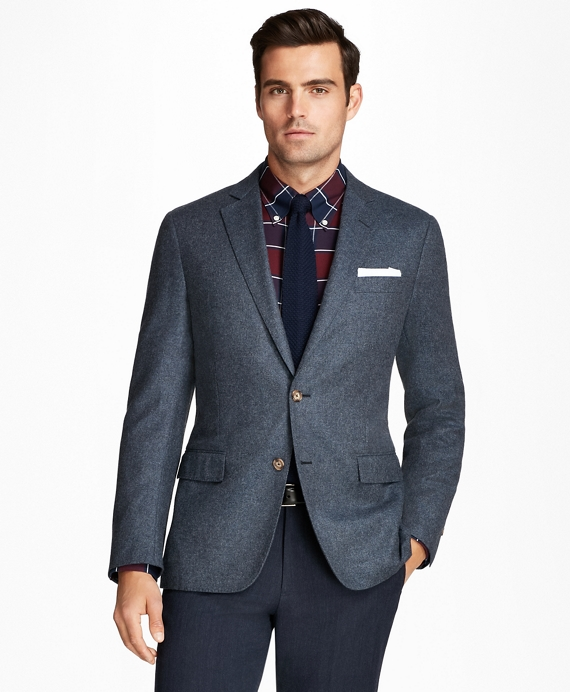 Regent Fit Wool and Cashmere Sport Coat