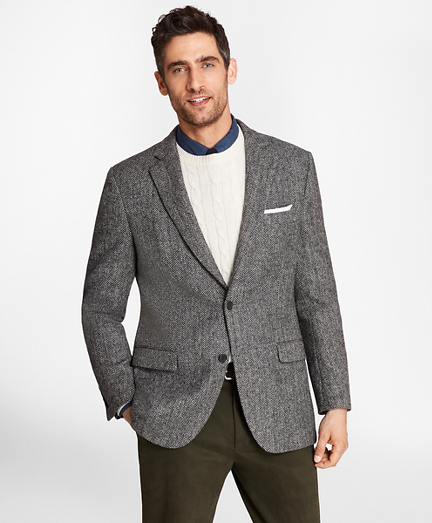 Madison Fit BrooksTweed® Herringbone Sport Coat
