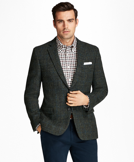 Regent Fit Harris Tweed Multi-Deco Sport Coat