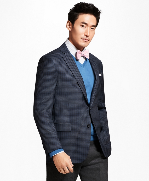 Regent Fit Multi-Check Sport Coat