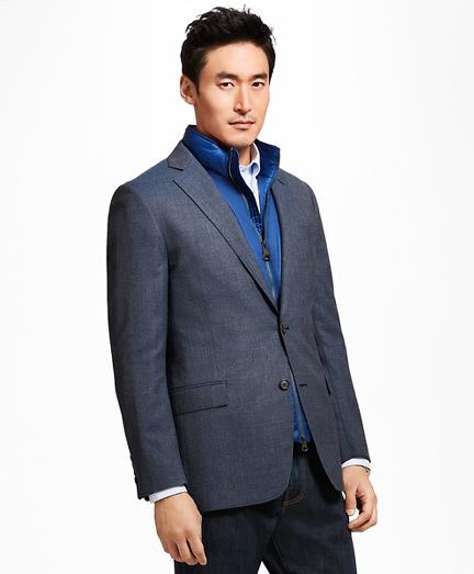 Regent Fit Hopsack Sport Coat