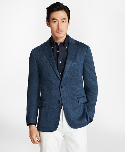 Regent Fit Linen Knit Sport Coat