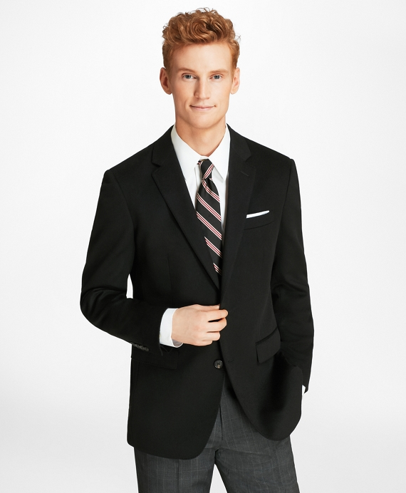 Milano Fit Two-Button Cashmere Sport Coat Black