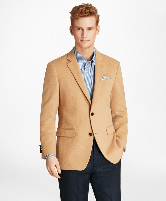 Milano Fit Camel Hair Sport Coat Camel