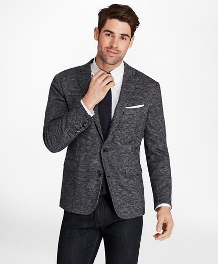 Regent Fit Check Knit Sport Coat
