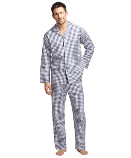 wrinkle-resistant broadcloth pajamas