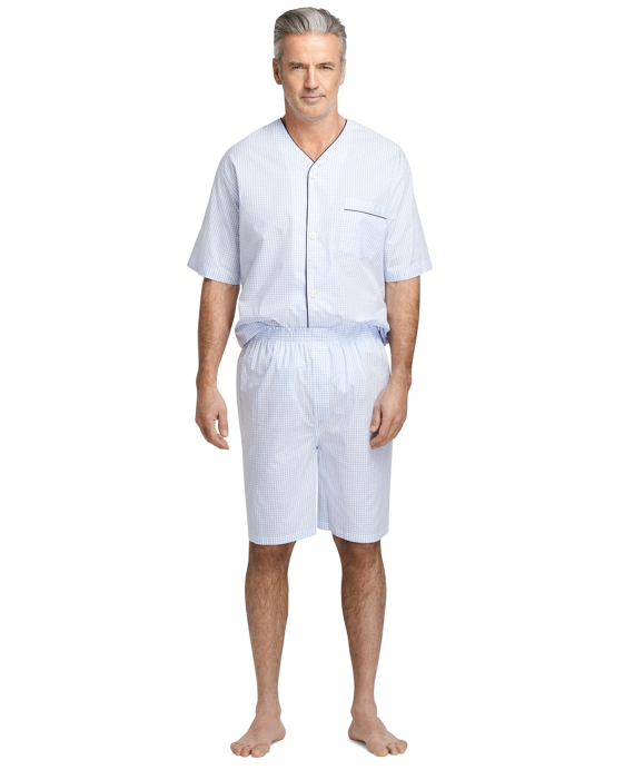 Sale alerts for Brooks Brothers Mini Check Broadcloth Short Pajamas - Covvet