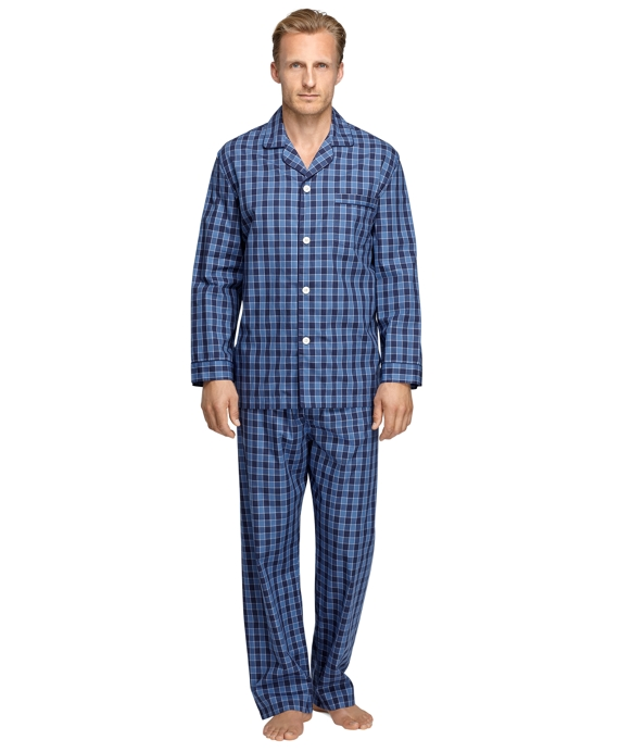 Buffalo Check Pajamas Blue