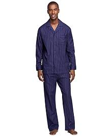 Stripe Flannel Pajamas