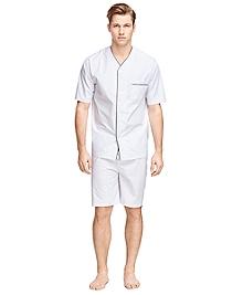 Sidewheeler Tattersall Short Pajamas