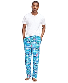 Patchwork Madras Lounge Pant