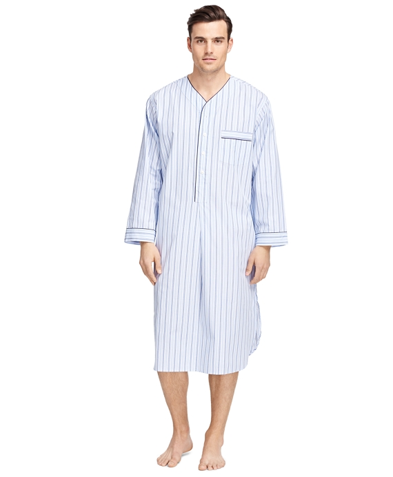 Alternating Bold Stripe Nightshirt