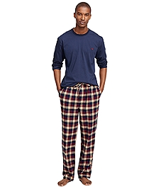 Buffalo Check Flannel Lounge Set