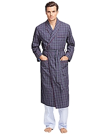 Tattersall Robe