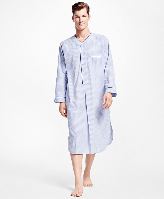 Seersucker Candy Stripe Nightshirt