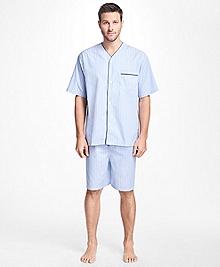 Bold Stripe Short Pajamas