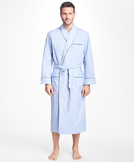 Bold Stripe Robe
