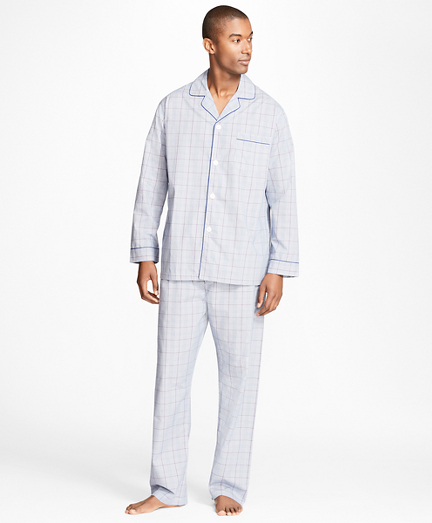 Plaid with Deco Pajamas