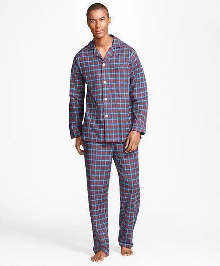 Alternating Plaid Pajamas