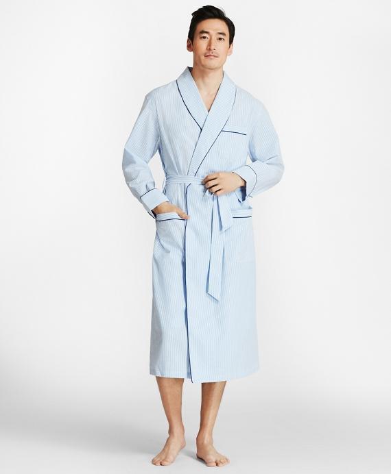 Seersucker Robe