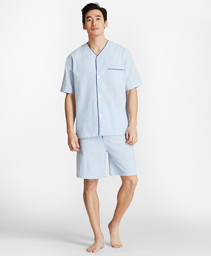 Seersucker Short Pajamas