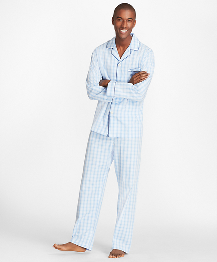 Large Plaid Pajamas