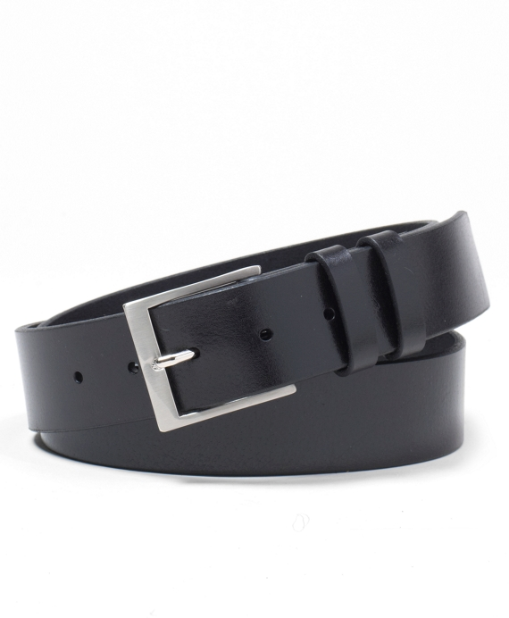 Square Buckle Belt Black