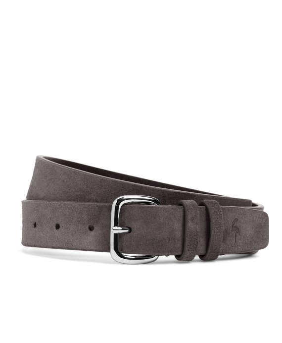 Harrys Of London® Suede Belt Aqua-Grey