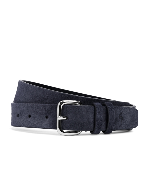 Harrys Of London® Suede Belt Navy