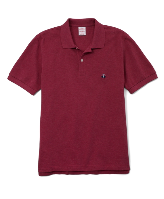 Golden Fleece® Original Fit Performance Polo Shirt Claret Heather