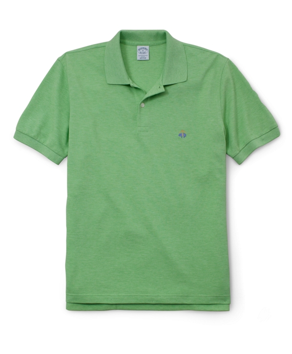 Golden Fleece® Original Fit Performance Polo Shirt Lime Heather