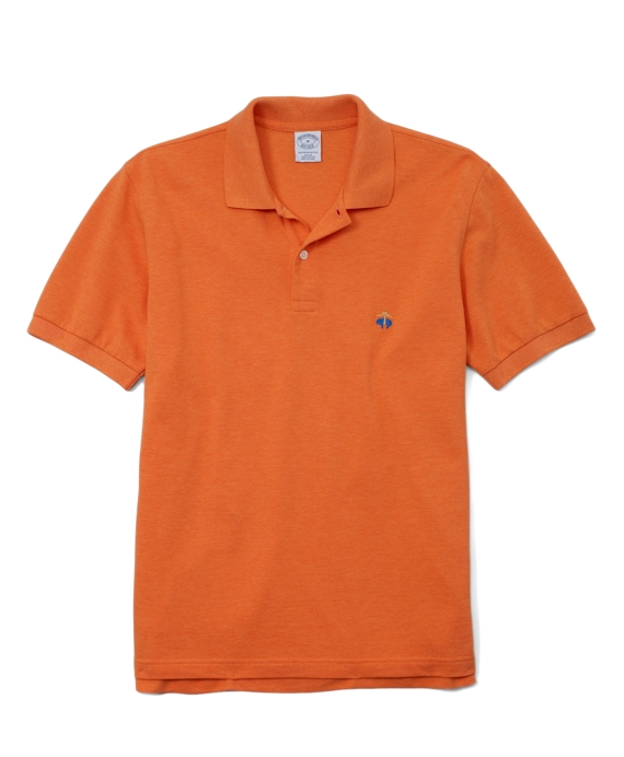 Golden Fleece® Original Fit Performance Polo Shirt Orange Heather