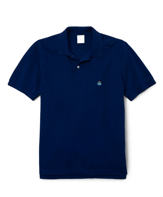 Golden Fleece® Original Fit Performance Polo Shirt Regimental Blue
