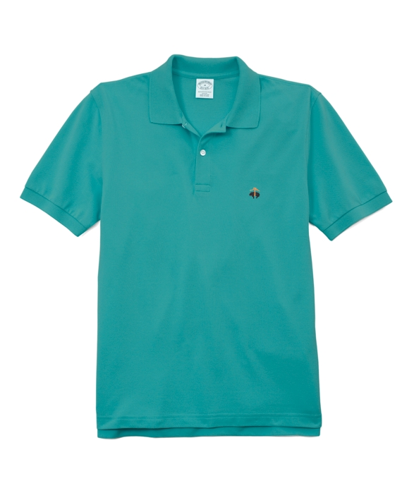 Golden Fleece® Slim Fit Performance Polo Shirt Aqua