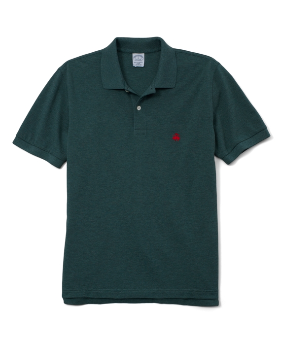 Golden Fleece® Slim Fit Performance Polo Shirt Foliage Green Heather