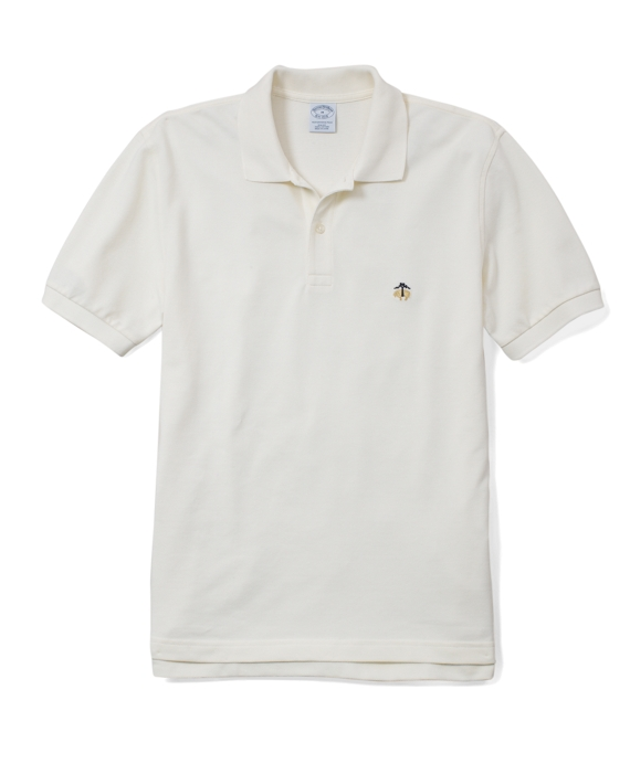 Golden Fleece® Slim Fit Performance Polo Shirt Ivory