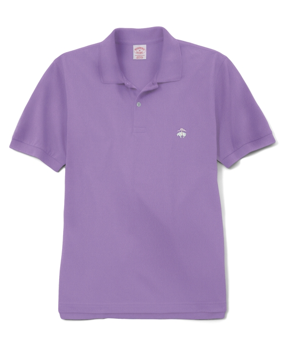 Golden Fleece® Slim Fit Performance Polo Shirt Lavender