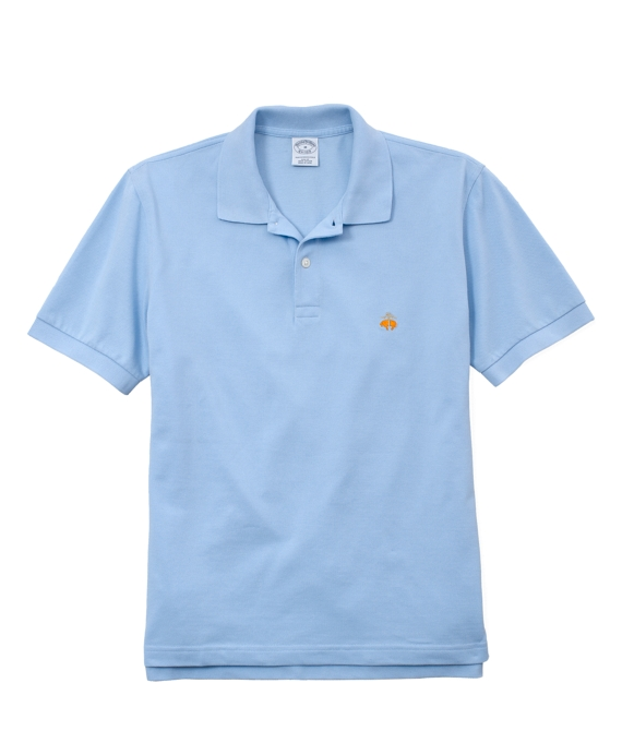 Golden Fleece® Slim Fit Performance Polo Shirt Light Blue